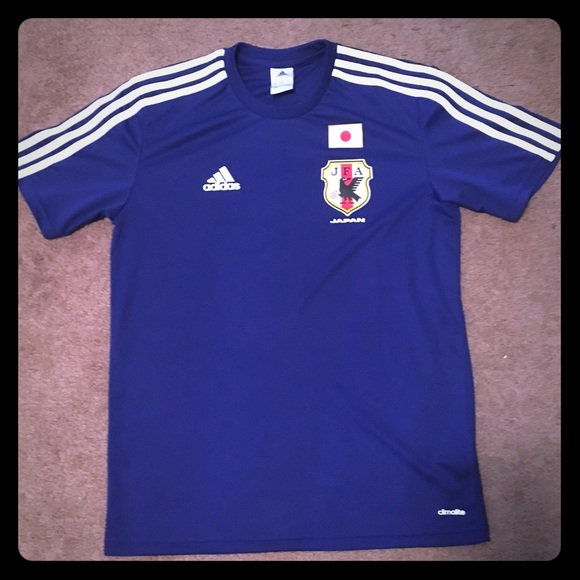 b27b1b4be adidas Other - ⚽ ADIDAS Team Japan World Cup Soccer Jersey 🇯🇵